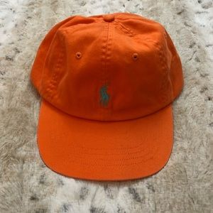 Polo Ralph Lauren Orange Hat